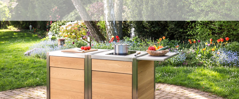 Die mobile Küche neoculina nach dem Design von Wohnwert Innenarchitektur