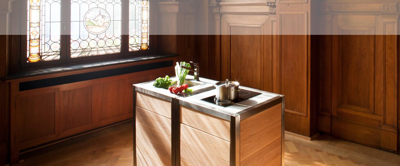 Die Modulküche Neoculina entworfen von Wohnwert Innenarchitektur