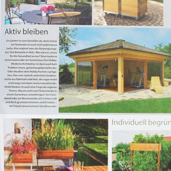 Die Modulküche Neoculina von Wohnwert Innenarchitektur im Magazin Bauen und Renovieren.