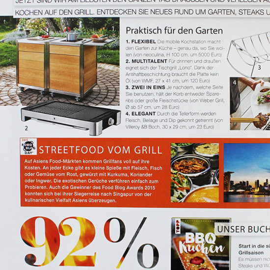 Die Modulküche Neoculina von Wohnwert Innenarchitektur im Magazin Lust auf Genuss.