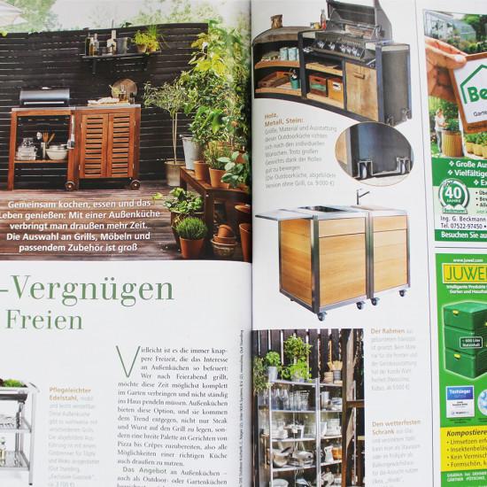 Neoculina im Magazin Mein schöner Garten im Mai 2017