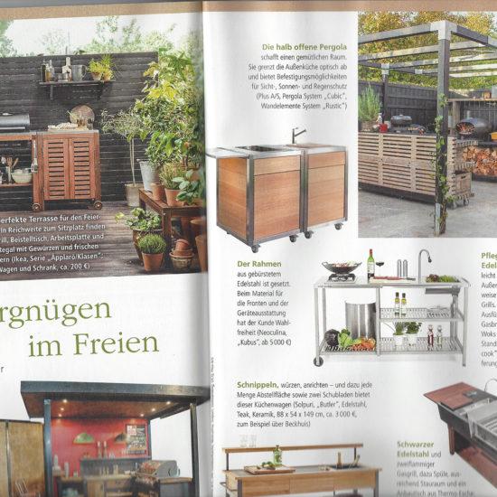 Neoculina im Magazin Mein schöner Garten im März 2019