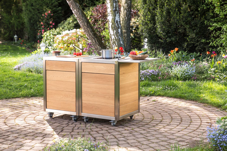 Mobile Küche für Eventgastronomie und Catering  neoculina